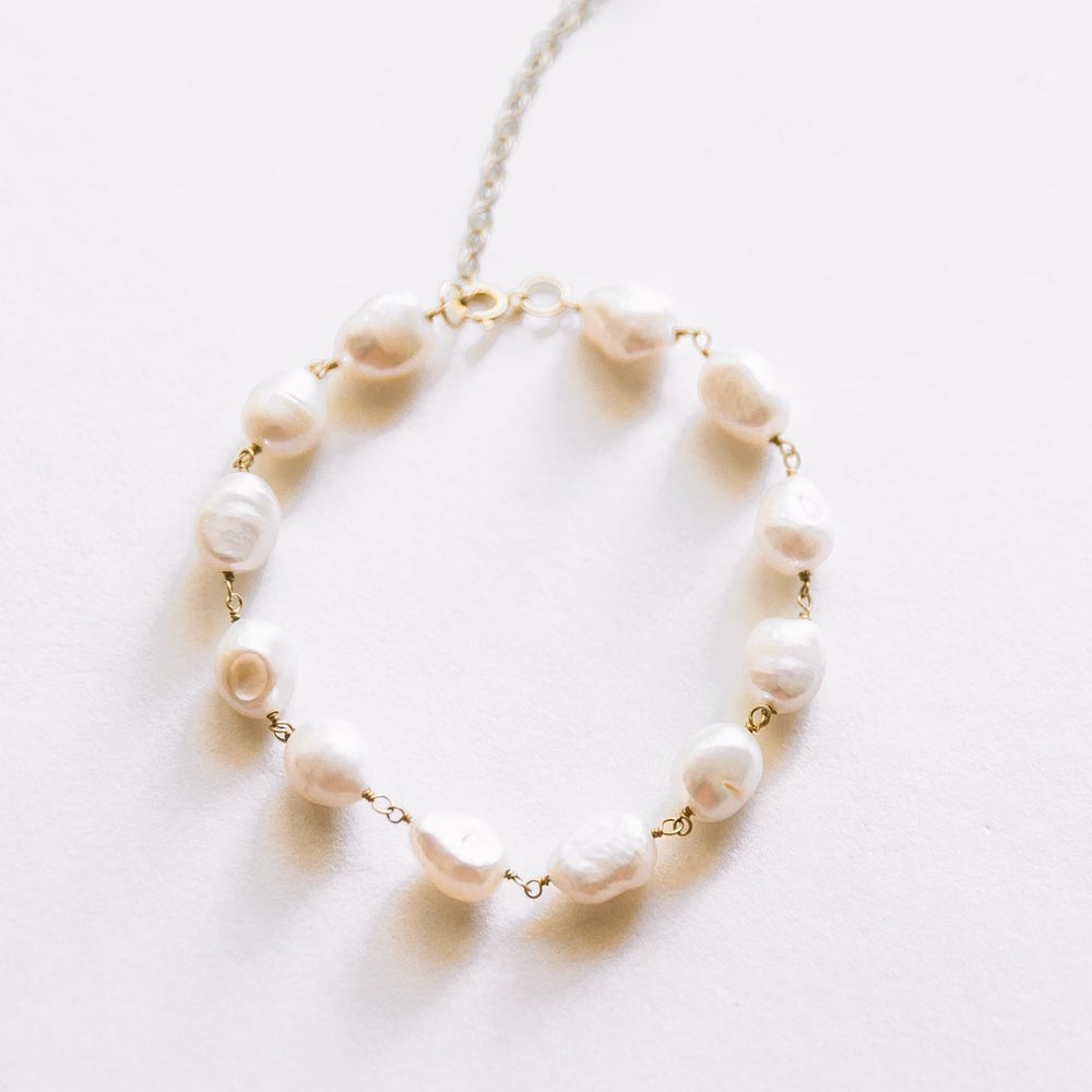 Image of The Baby Pearl Bracelet