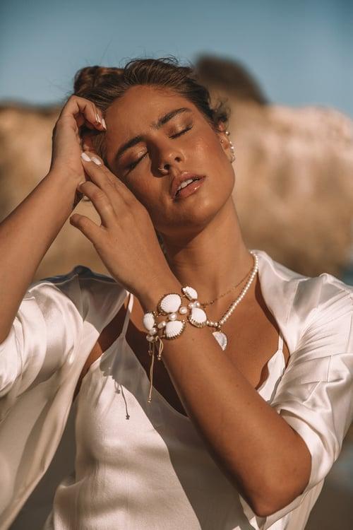 Image of The Triple Shell Bracelet
