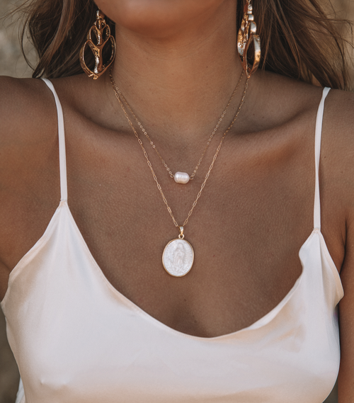 Image of The Maria Pearl Necklace