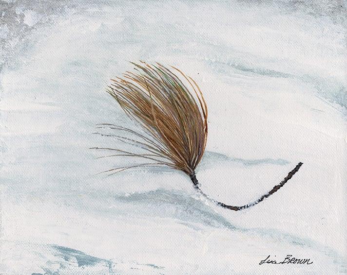 Image of Pine Bough print