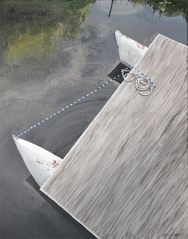 Image of Pontoon Boat print