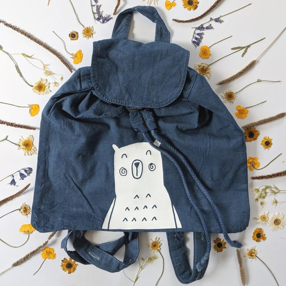 Image of NAVY BEAR RUCKSACK