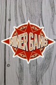 Image of Niner Gang 3-in sticker