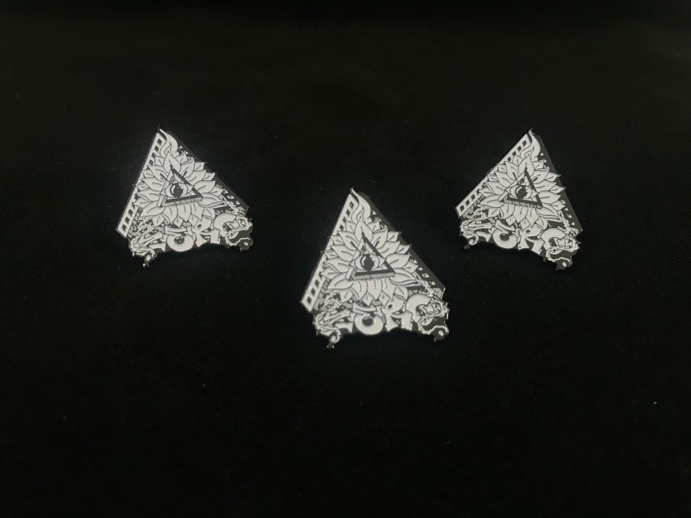 Image of Zero enamel pin