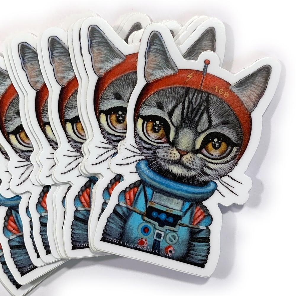Image of Spacecat 1 (Sticker)