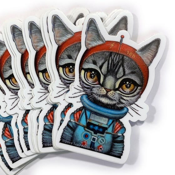Image of Spacecat 1 (Sticker)