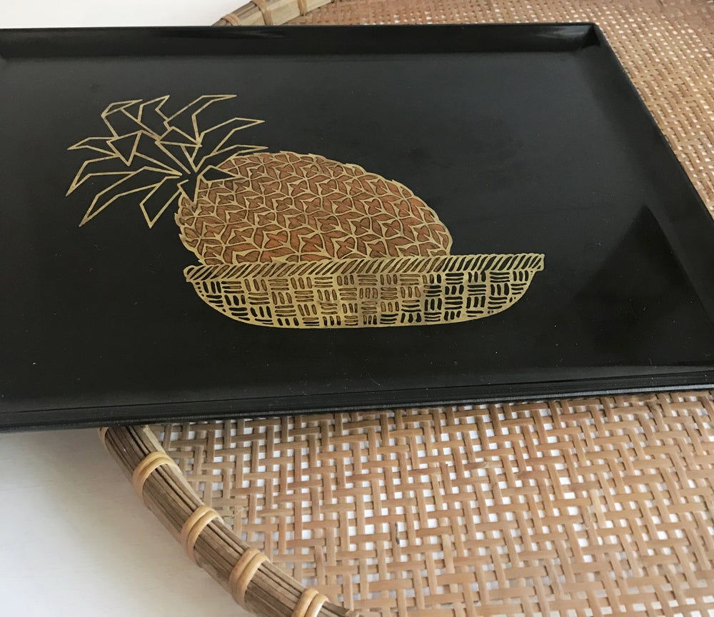 Image of Pineapple Vintage Tray