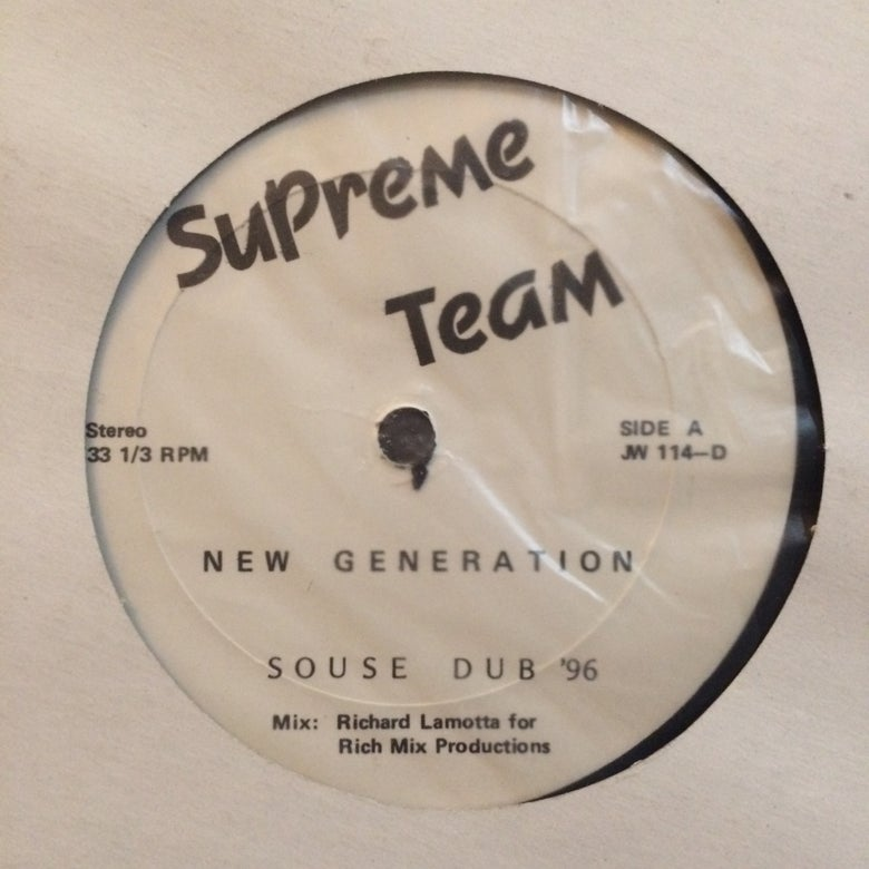 Image of New Generation - Supreme Team