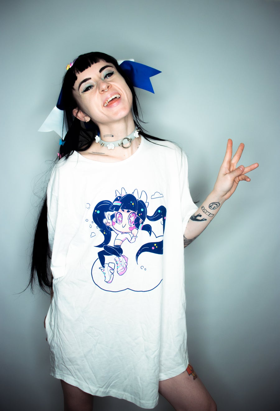 Image of UGH JUST RAVE tee