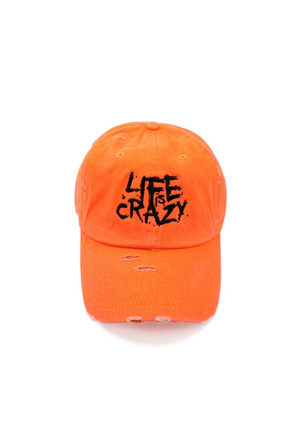 Image of L.I.C NEON ORANGE DAD HAT