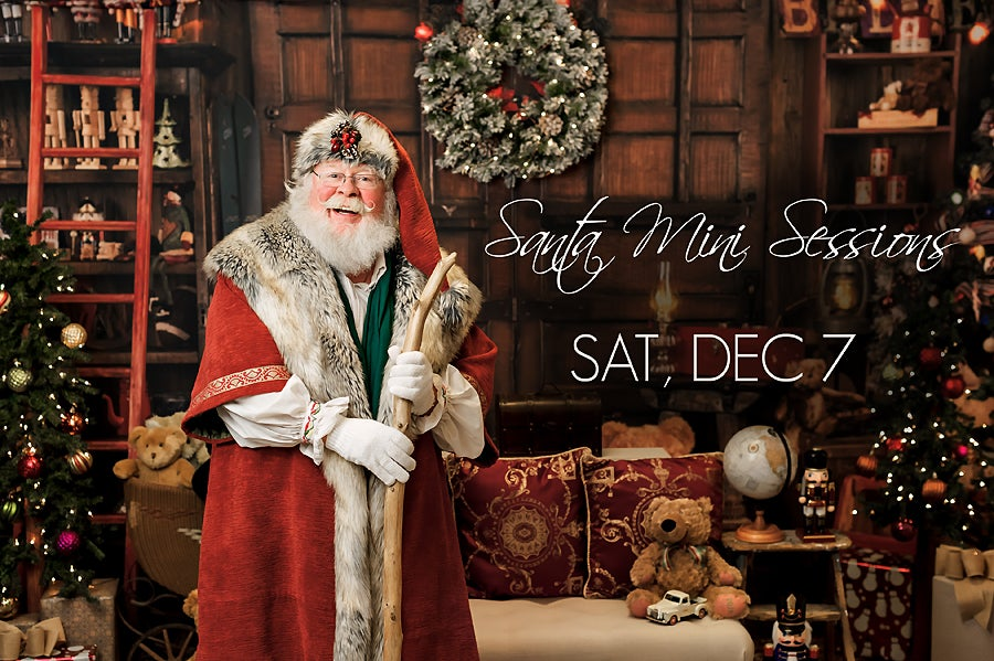 Image of Book My Santa Mini Session - Saturday, Dec 7, 2019