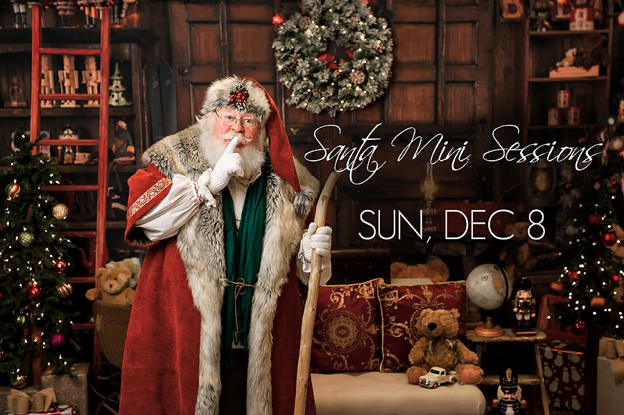 Image of Book My Santa Mini Session - Sunday, Dec 8, 2019