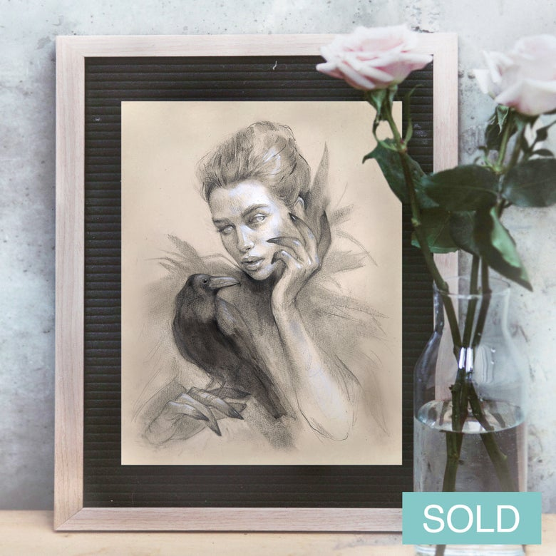 Image of Raven witch - SOLD OUT