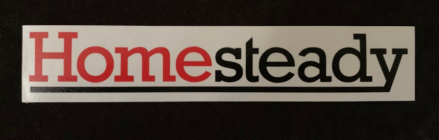Image of HOMESTEADY LOGO  DECAL