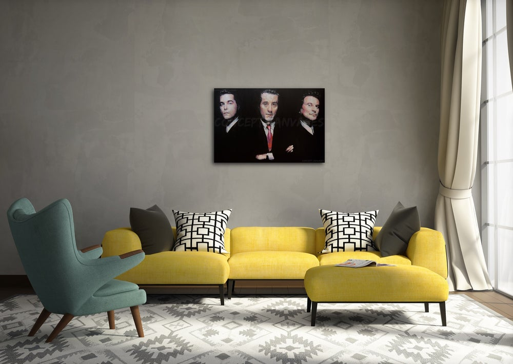 Image of Goodfellas 'As Far Back as I Can Remember' Hand Painted Original