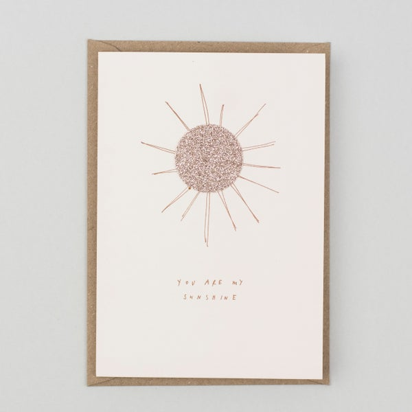 Image of You Are My Sunshine Card