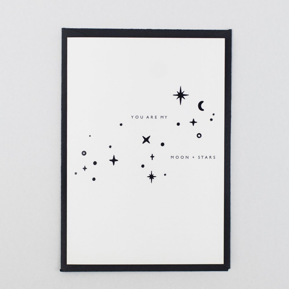 Image of You Are My Moon + Stars