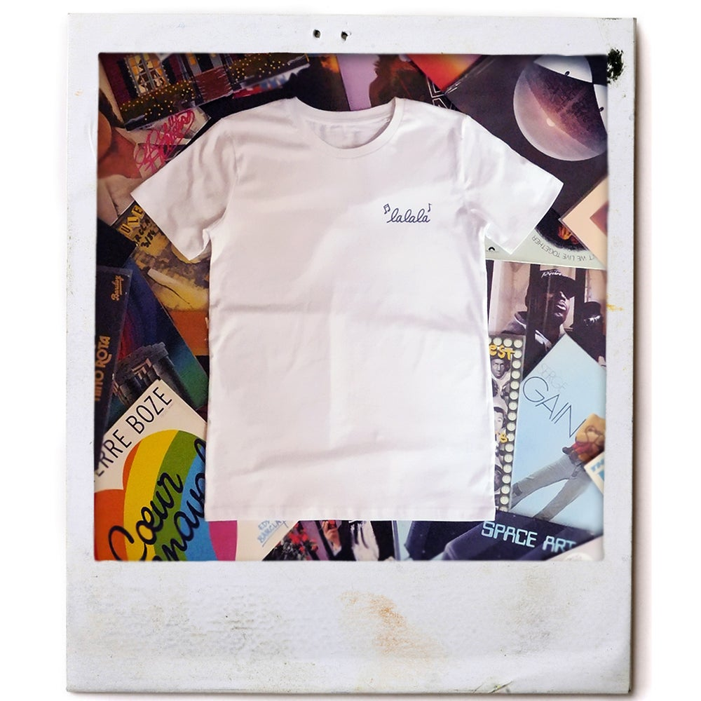 "Image of T-shirt blanc ""Lalala"""