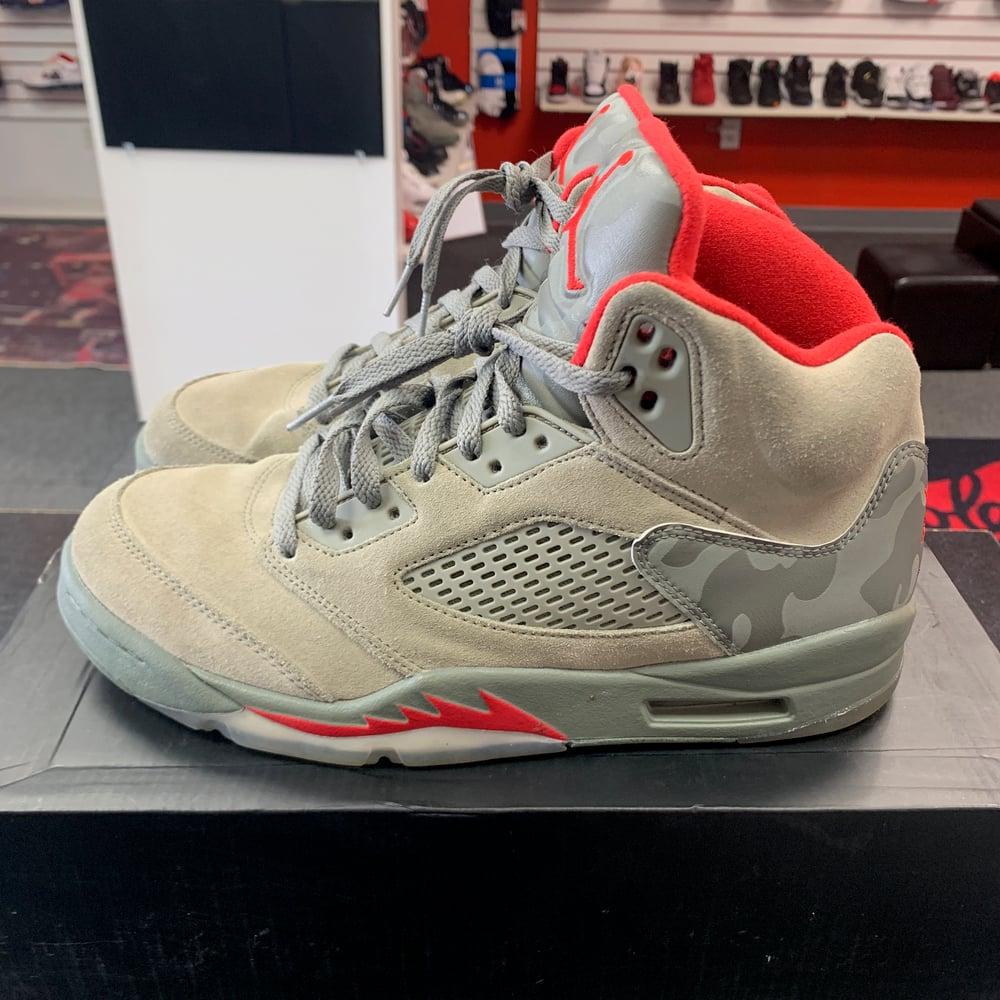 Image of Jordan 5 - Camo - Size 8.5