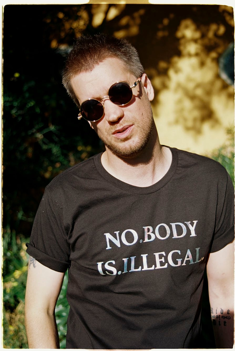 Image of NO BODY IS ILLEGAL [RADICAL TRANSPARENCY TEE]