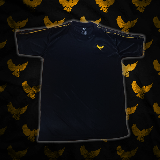 Image of Black/Gold Worn By Few T-Shirt