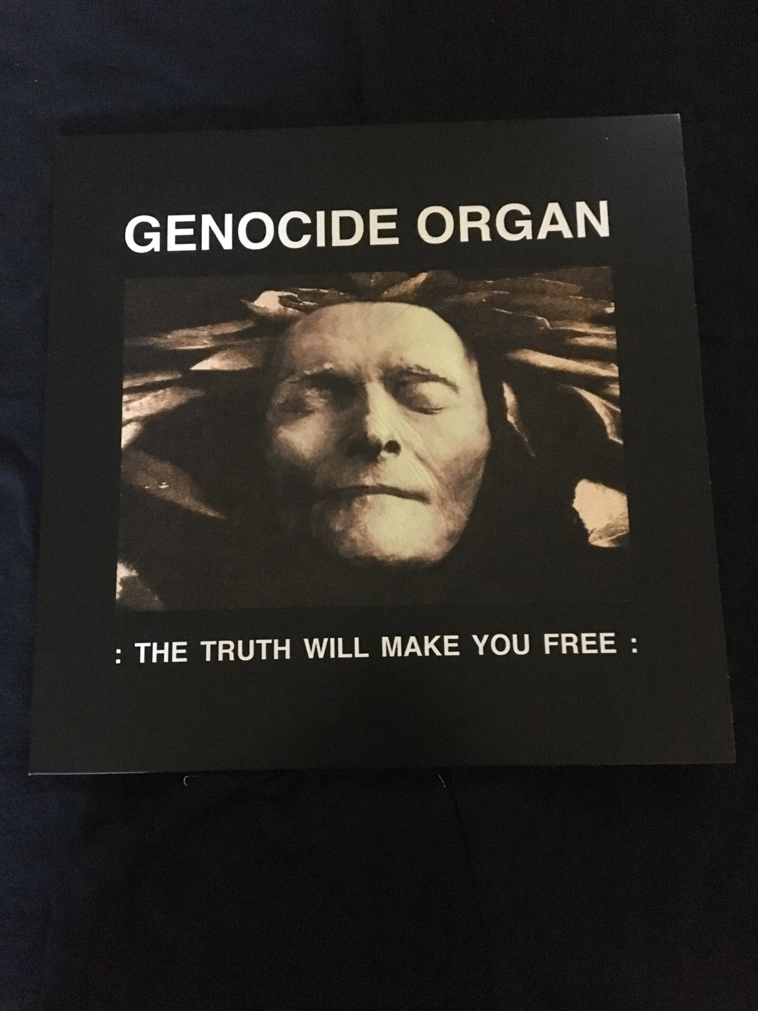 Genocide Organ - The Truth Will Make You Free LP (Tesco)