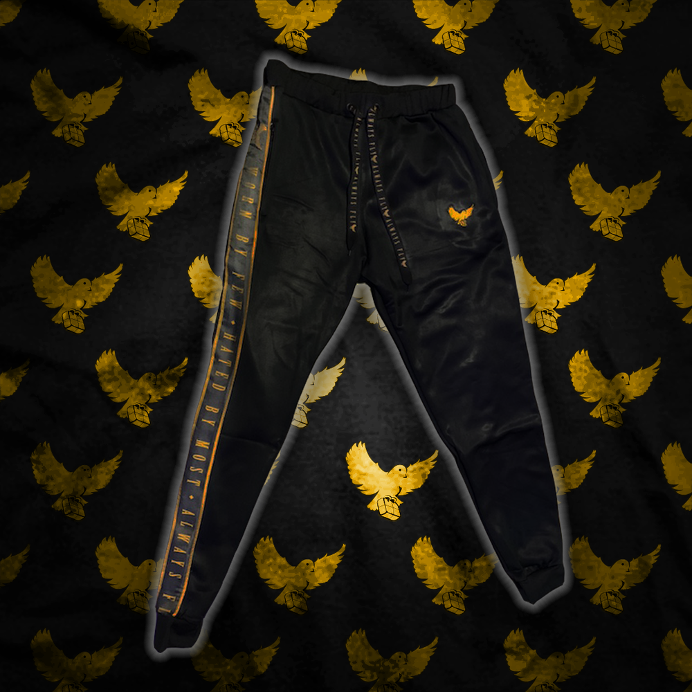 Image of Black/Gold Worn By Few Joggers