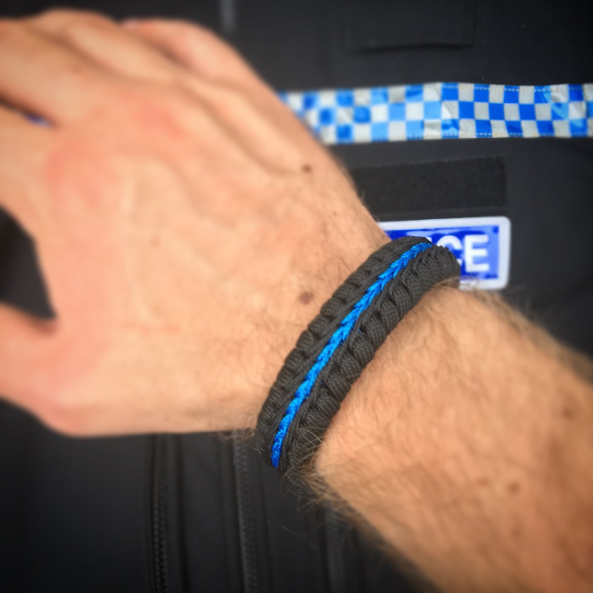 Image of KMP Stitched Wristbands