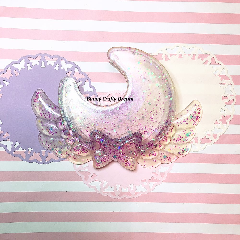 Image of Kawaii Moon Trinket Box