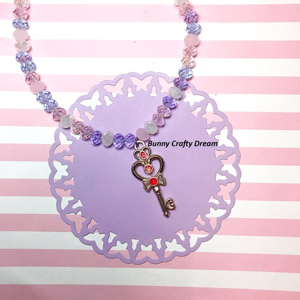 Image of Key of Time Sailor Moon Inspired Necklace