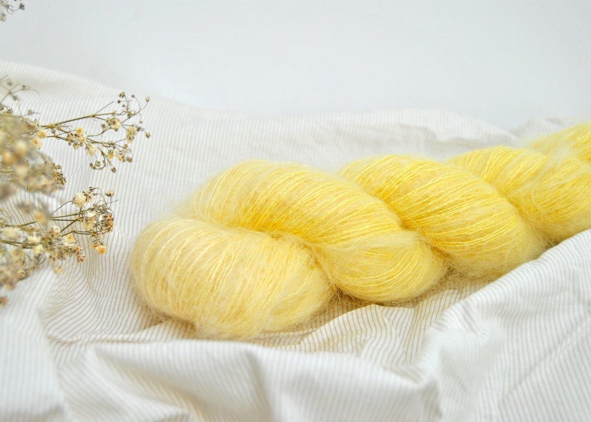 Image of Limonade - Kid Mohair & Silk Lace