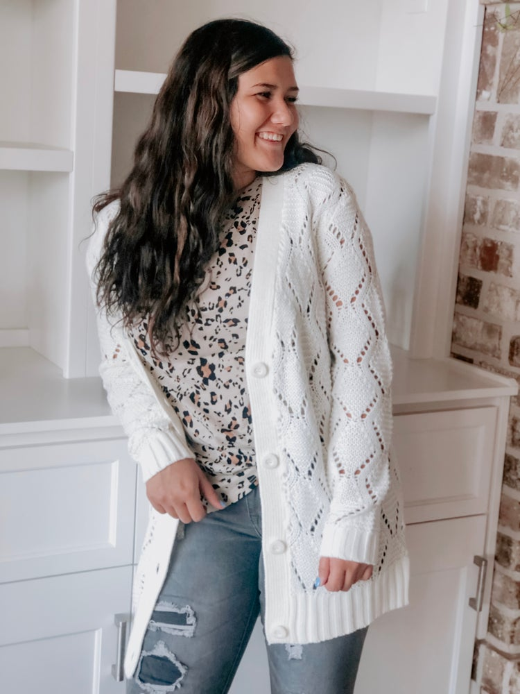 Image of JESS KNIT CARDIGAN