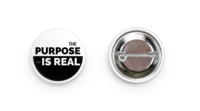 Image of Message Button: The Purpose is Real