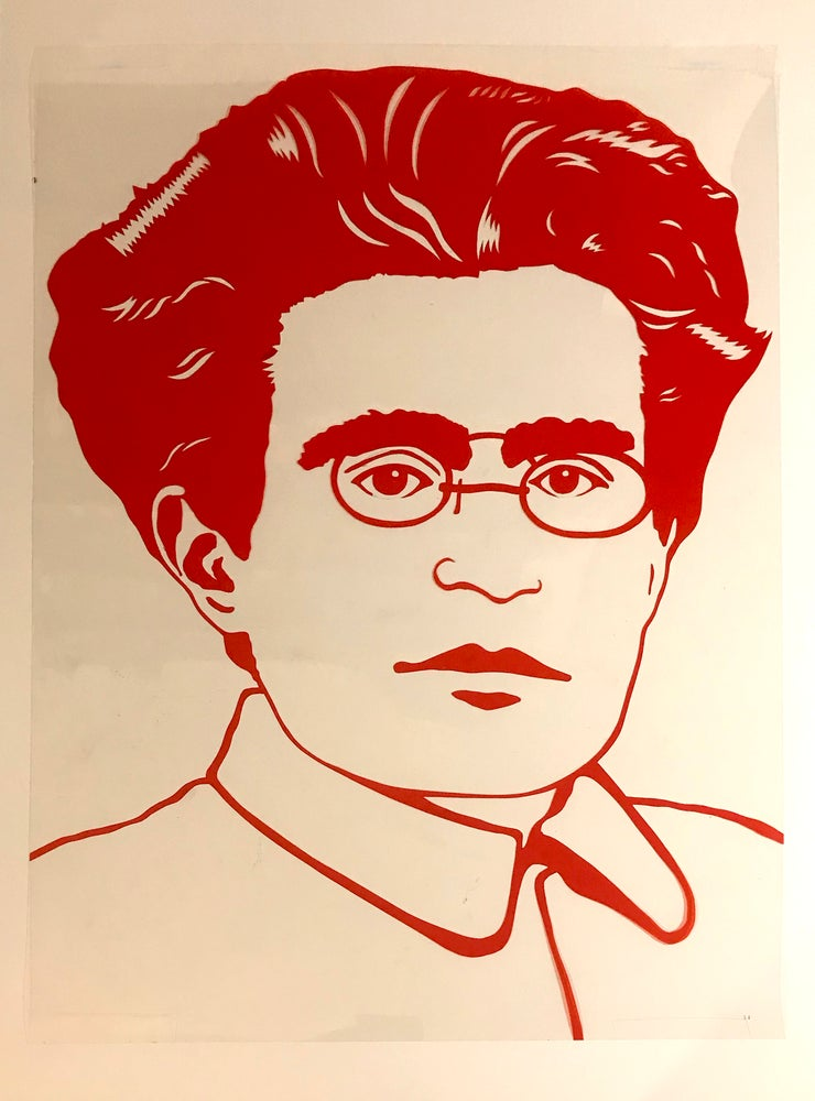 Image of Antonio Gramsci Rubylith