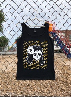 "Image of Women's ""Daisy Skull"" Tank"