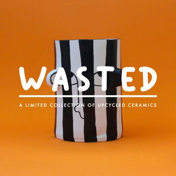 Image of WASTED - Upcycled ceramics - the Buren series
