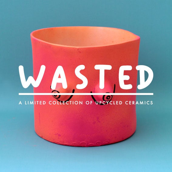 Image of WASTED - Upcycled ceramics - the Neon series