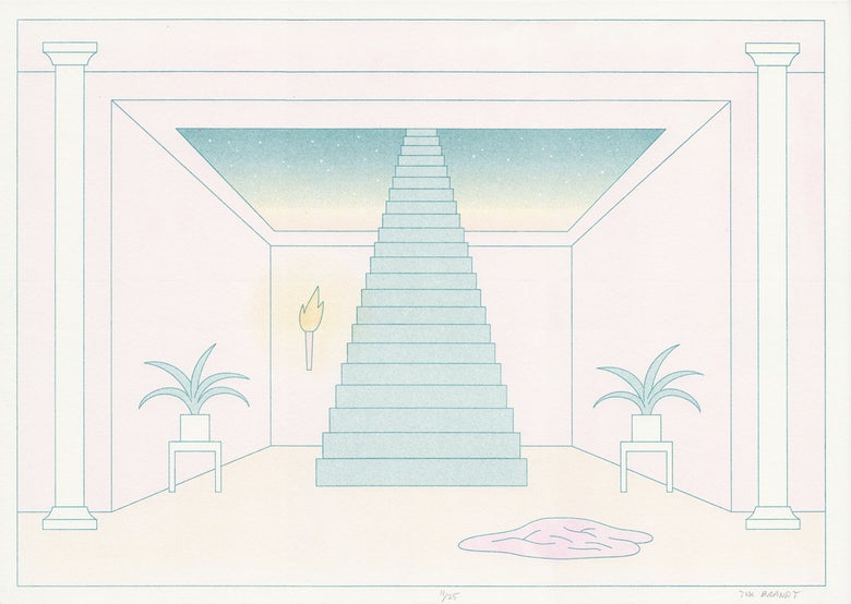 Image of Star room (riso print)