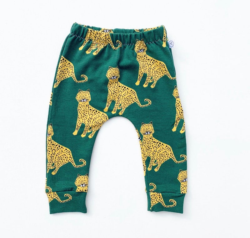 Image of Green Cheetah Leggings