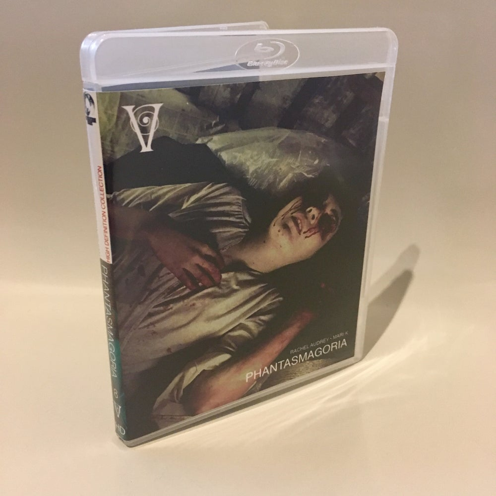 Image of PHANTASMAGORIA - BLU-RAY-R + DVD (HD COLLECTION #8, DESIGN D) SIGNED AND STAMPED, LIMITED 50