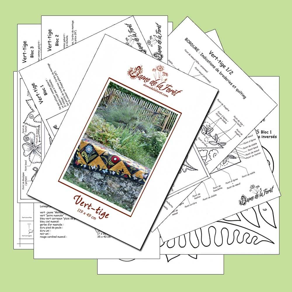 Image de VERT-TIGE PDF dame de la forêt