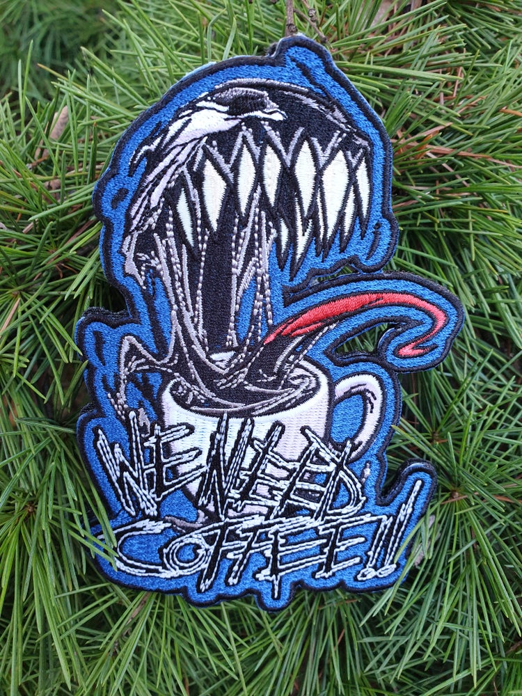 Image of We need Coffee - The Symbiote with Gnarly Teeth