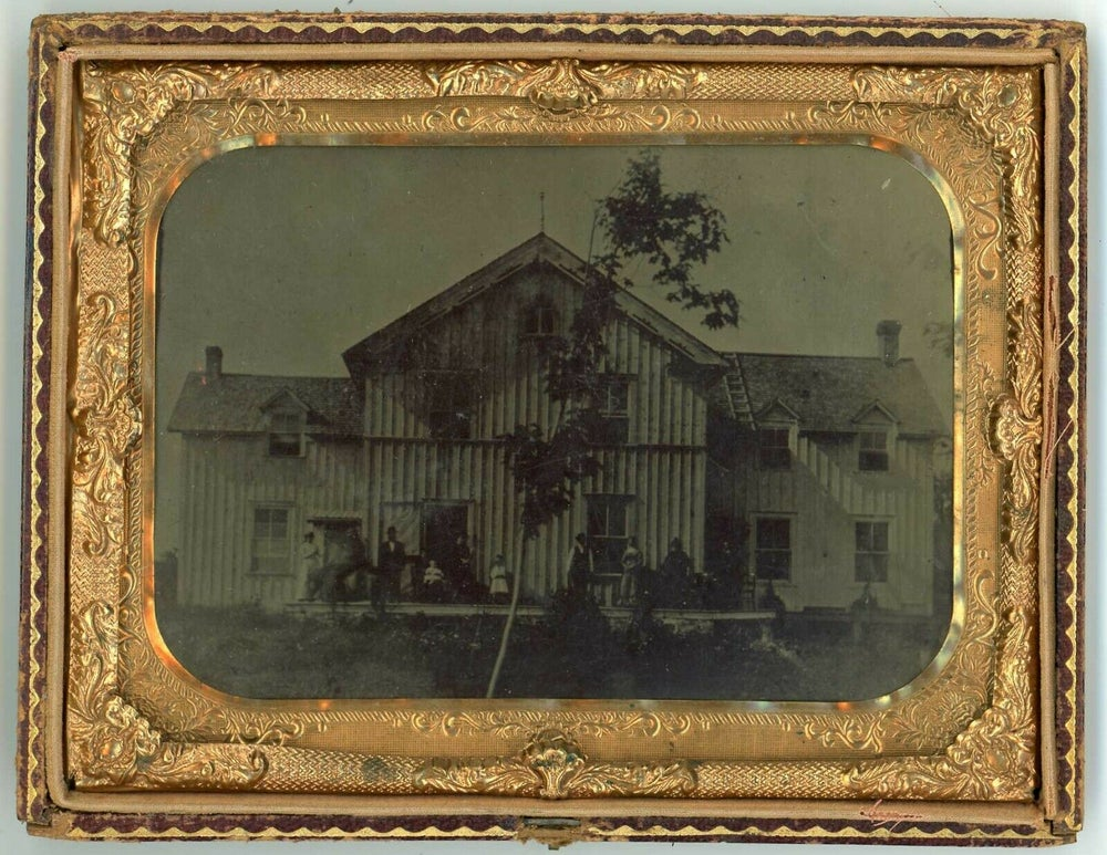 Image of Anonymous: half plate outdoor scene, ca. 1870