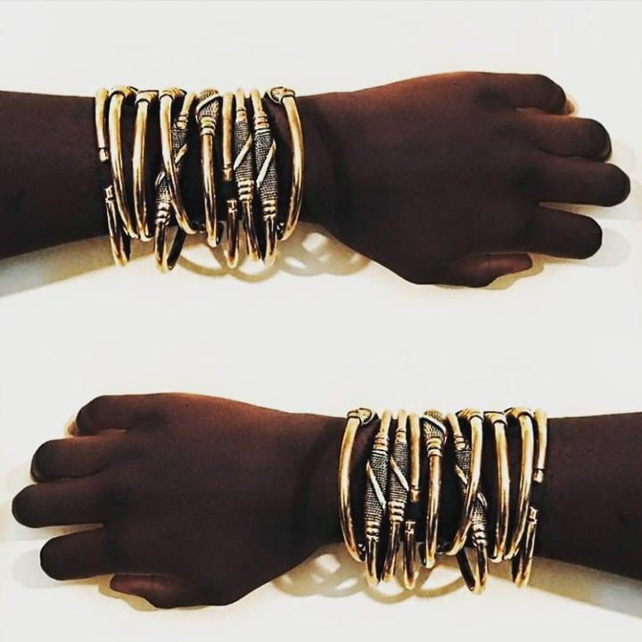 Image of Timeless Brass Cuff Bangle
