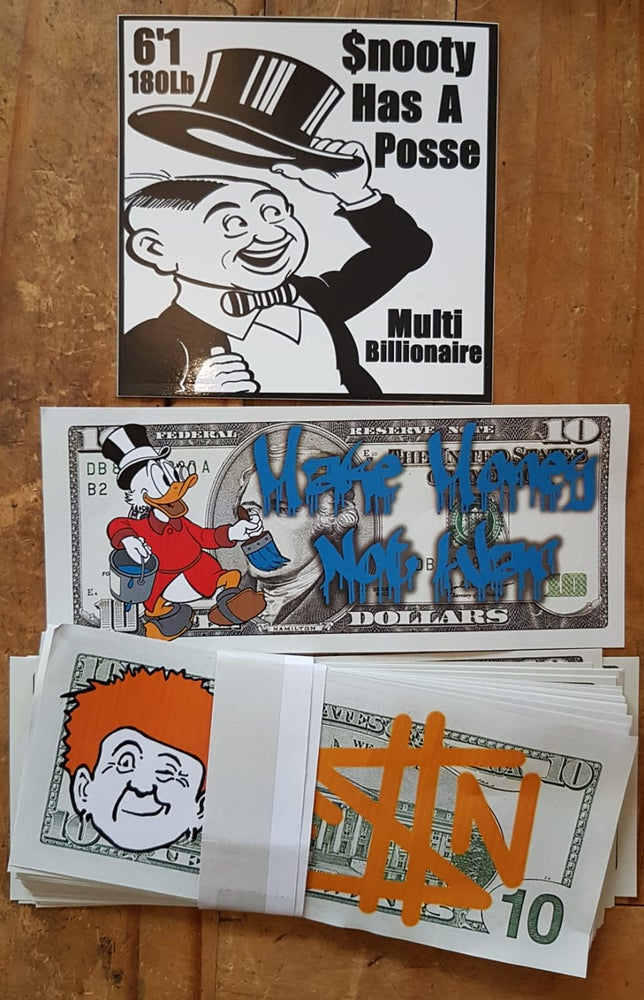 Image of Fauntleroy Snooty - Sticker pack