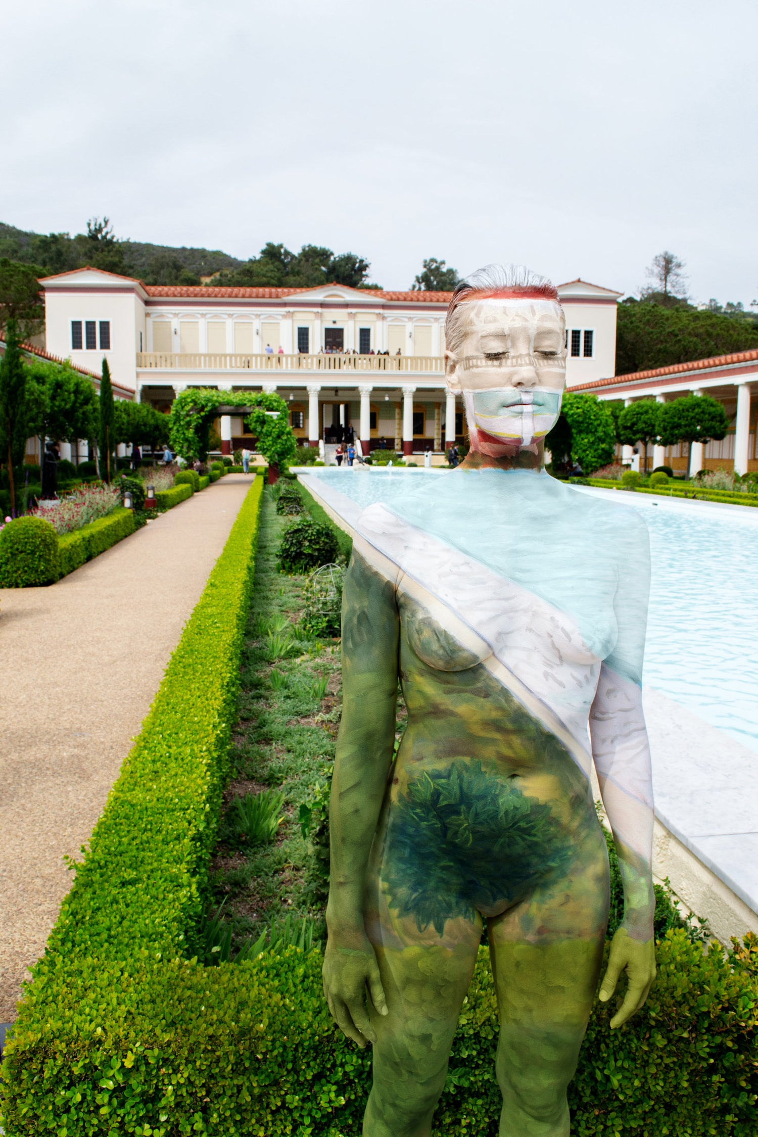 Image of Getty Villa Pool