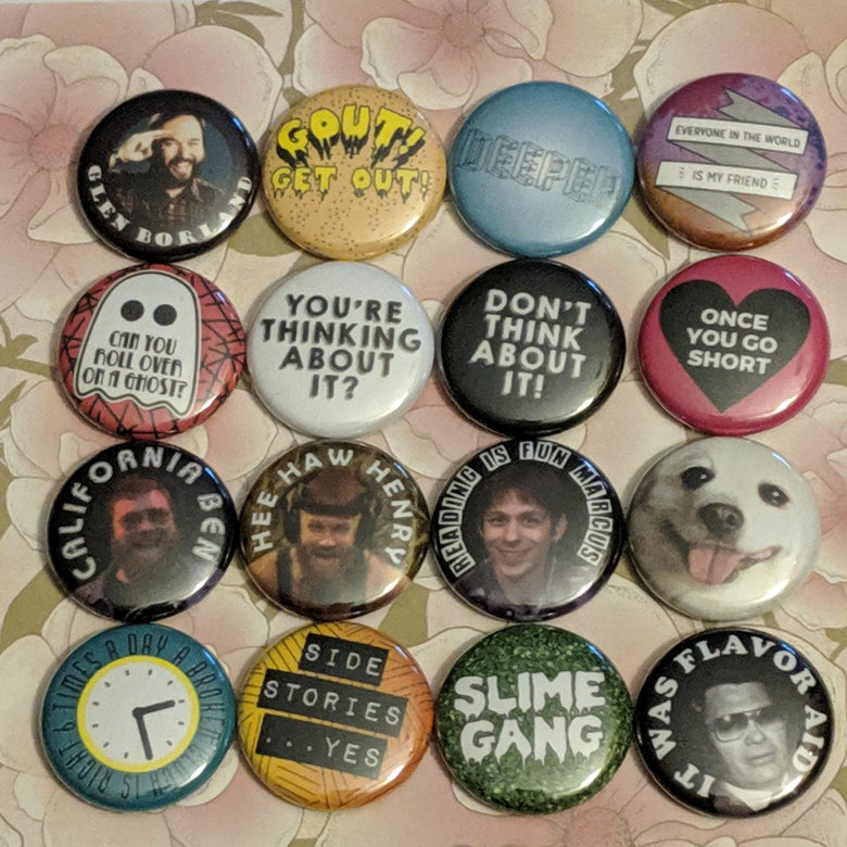 Image of LPOTL Set 5 of Buttons - may take 2-4 weeks to ship