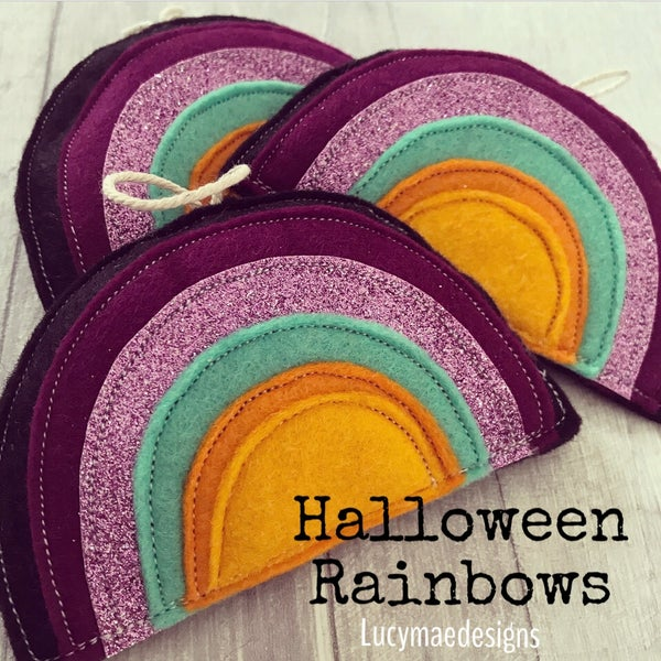 Image of Halloween Rainbow Decorations