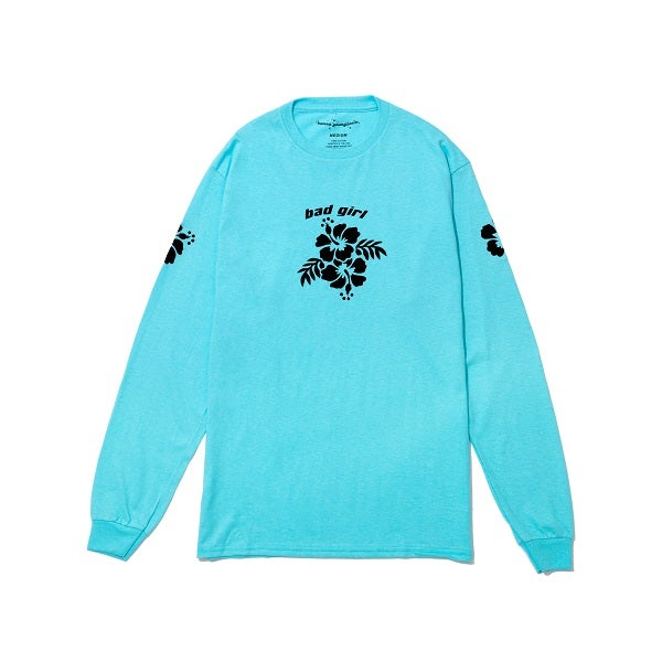 Image of Bad Girl Turquoise Long Sleeve