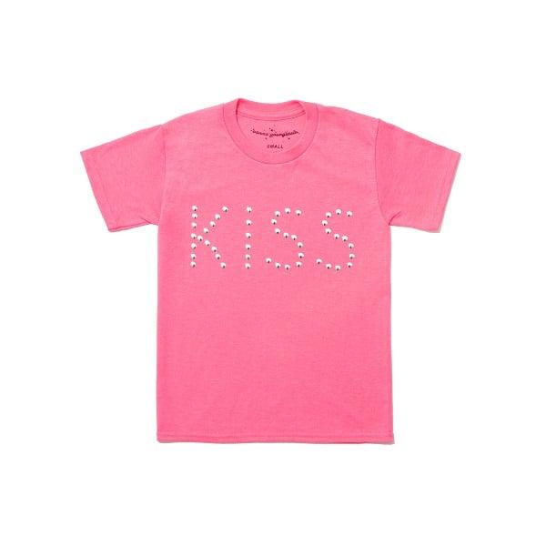 Image of Studded Kiss Tee 💋Original Pink